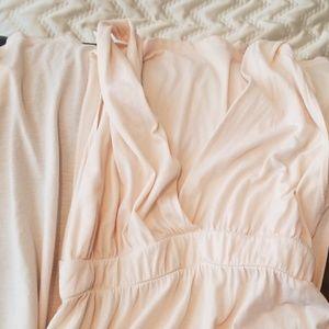 Cream Gypsy  maxi dress